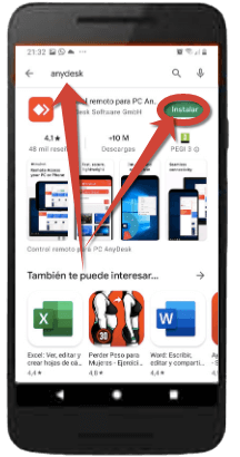 anydesk-para- android
