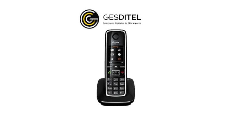 Teléfono Gigaset C530 IP, manual completo.