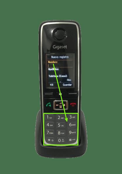 introducir-nombre-contacto-gigaset