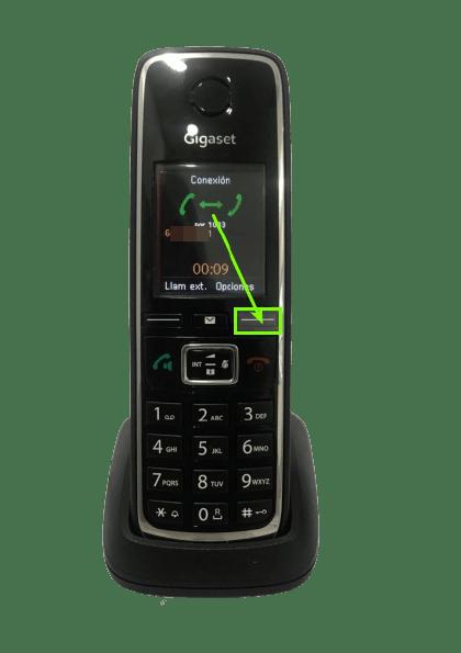 opciones-ajustes-volumen-gigaset